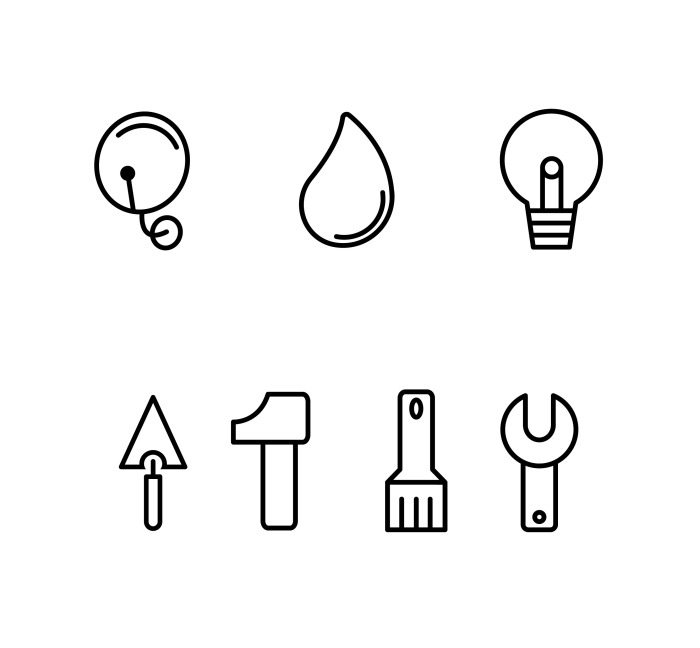 pictogramme outils
