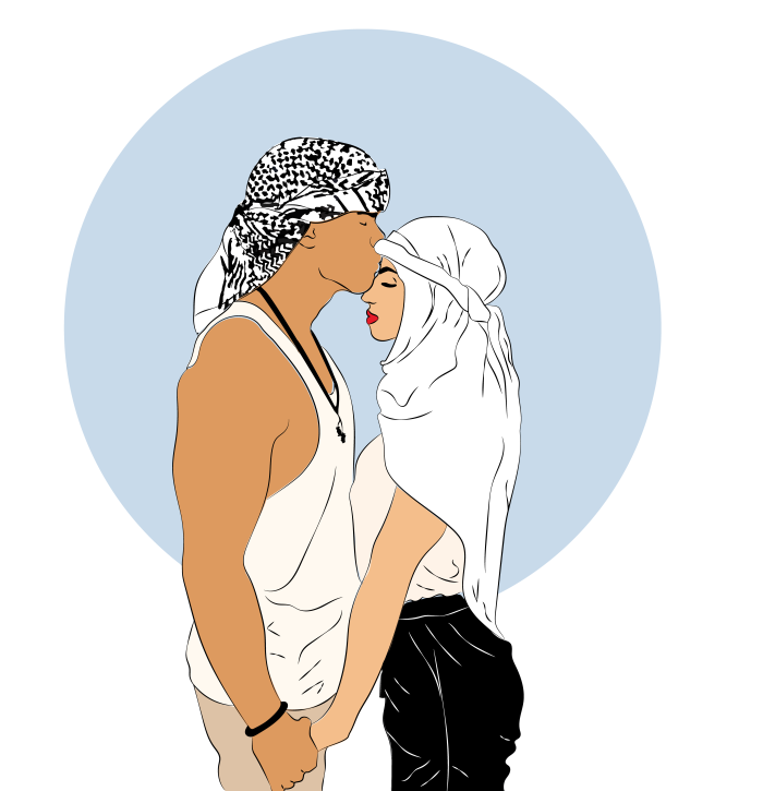 illustration couple