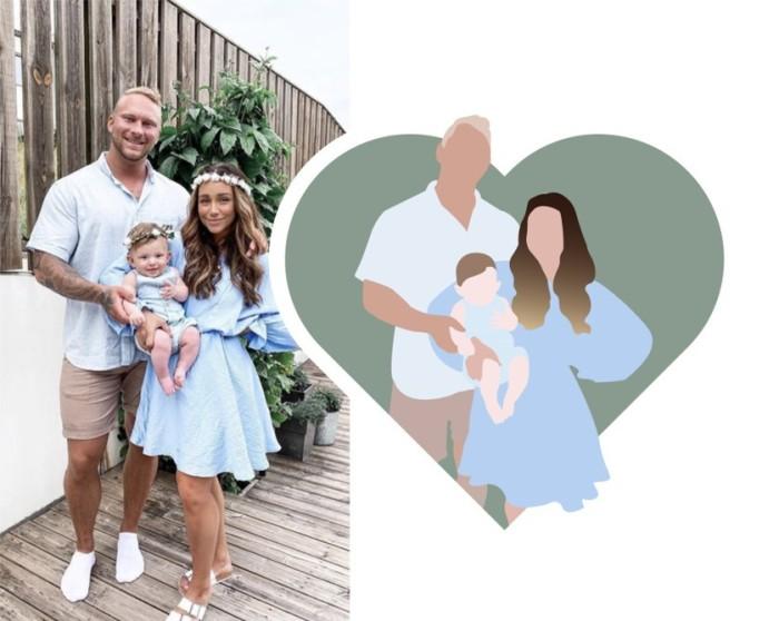 illustration famille